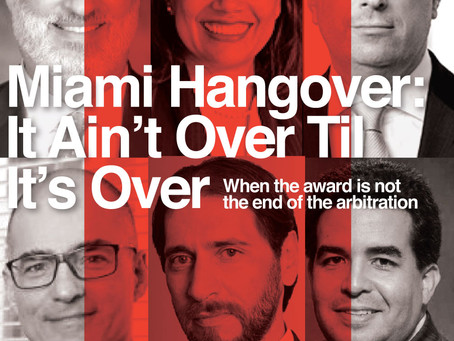 Miami Hangover: It Ain't Over Til It's Over