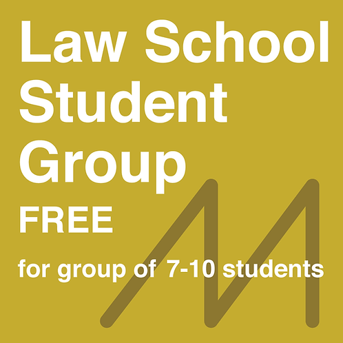 Law School Student Group (for 7-10 students) - FREE