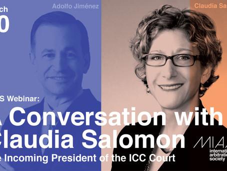 MIAS Webinar - A Conversation with Claudia Salomon