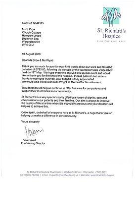 St Richards Hospice Letter.jpg