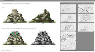 zafari-stone-throne-prop-design