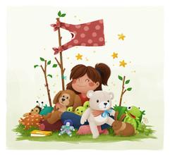 kid-toys-plush-animals-illustration