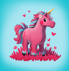 pink-unicorn-love-illustration