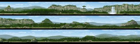 zafari-jungle-matte-painting-design