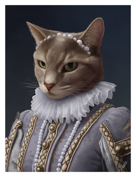 victorian-cat-portrait-painting