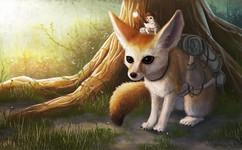 fox-forest-storybook-illustration
