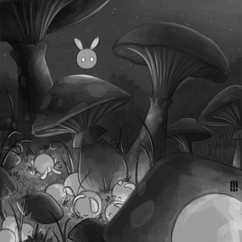 night-fairies-mushrooms-illustration