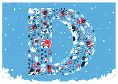 christmas-mosaic-cute-illustration