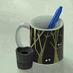 pen-cup-life-painting-study