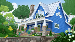 blue-house-cottage-illustration