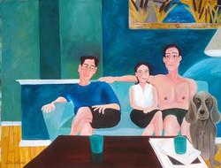 Sandi, Judy, Everett and Roman