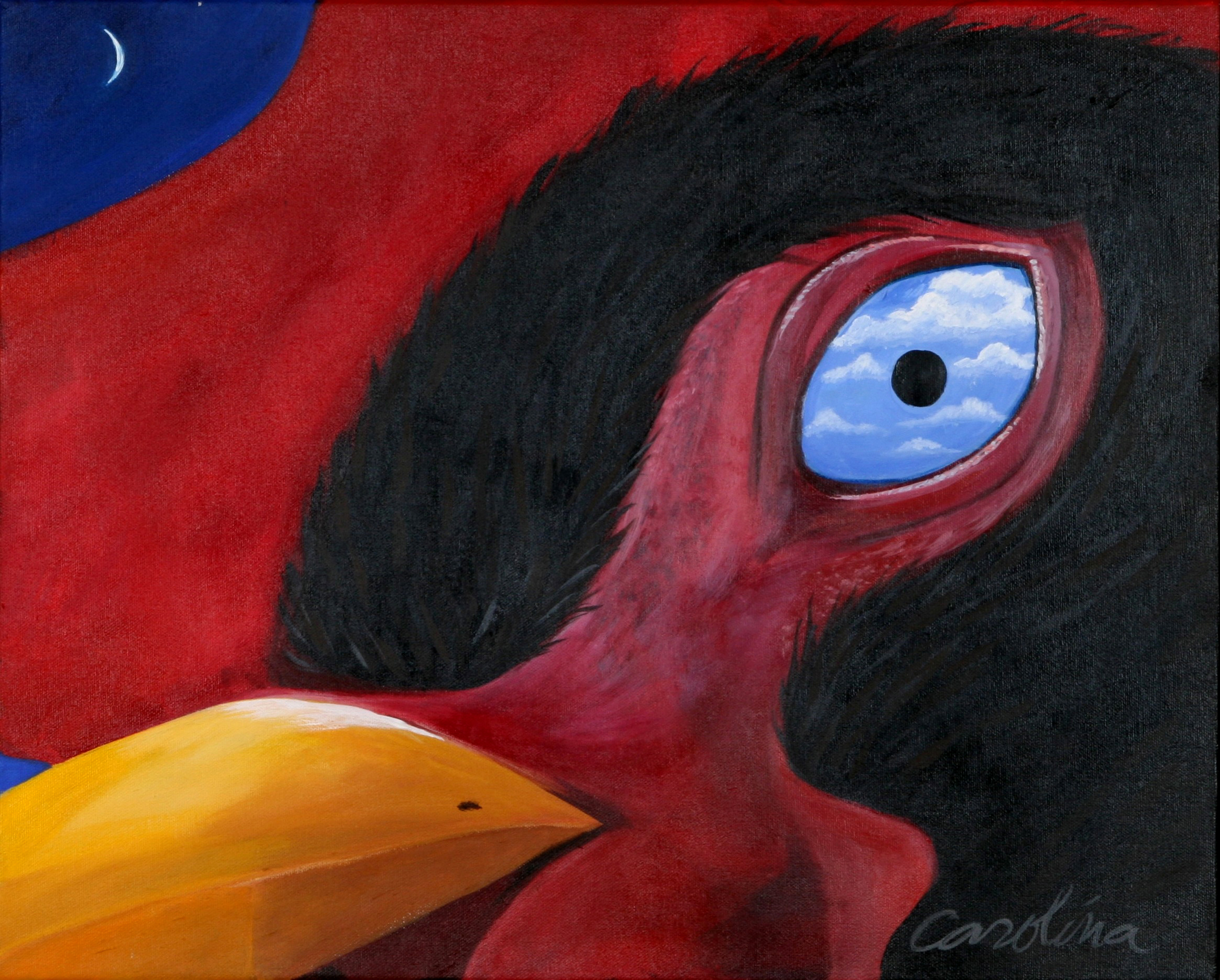 Magritte's Cock Eye