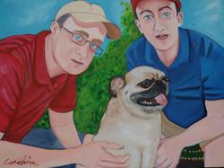 Brent, Midge and Adam