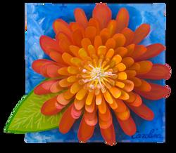 Gigantic Orange Flower