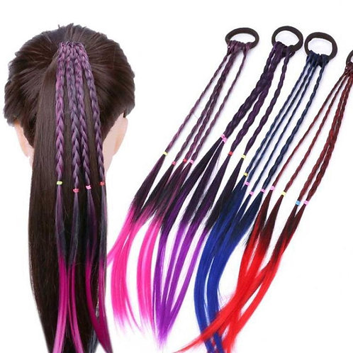 New Girls Colorful Ponytail Hair / Rubber Bands Hair Bands Accessories