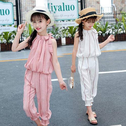 Girl Clothing Set- Striped