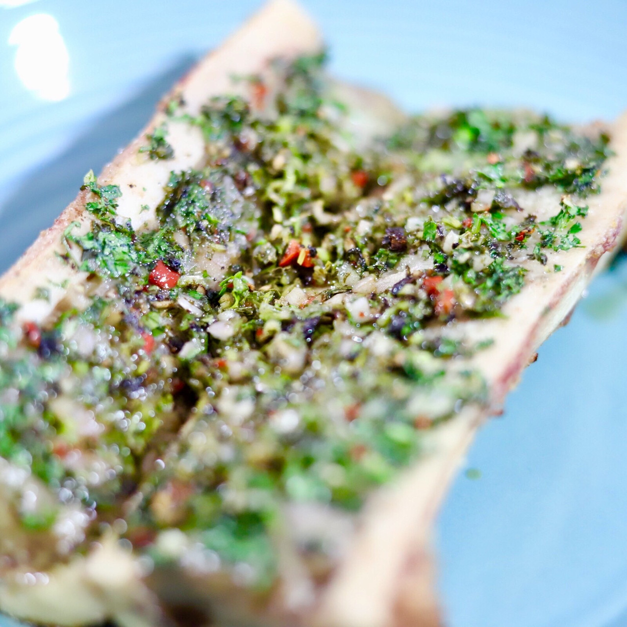 cooked bone marrow
