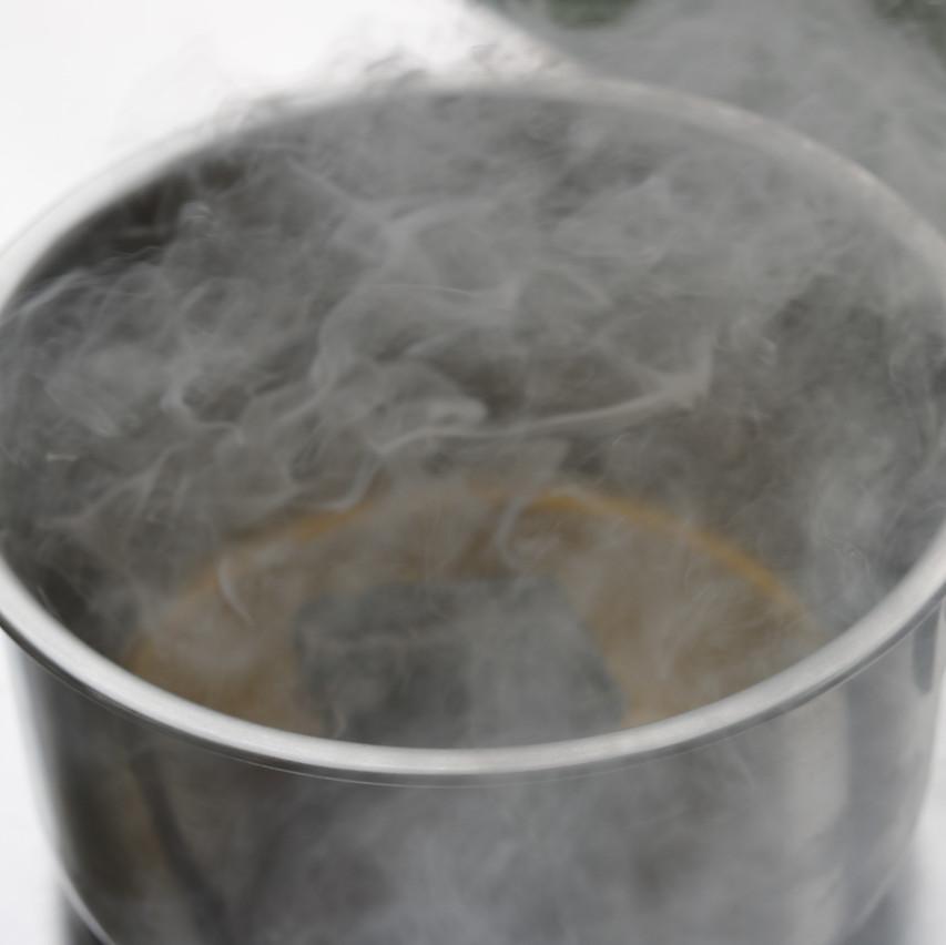 Charcoal Oil smoke