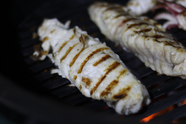 BBQ Monkfish Tail