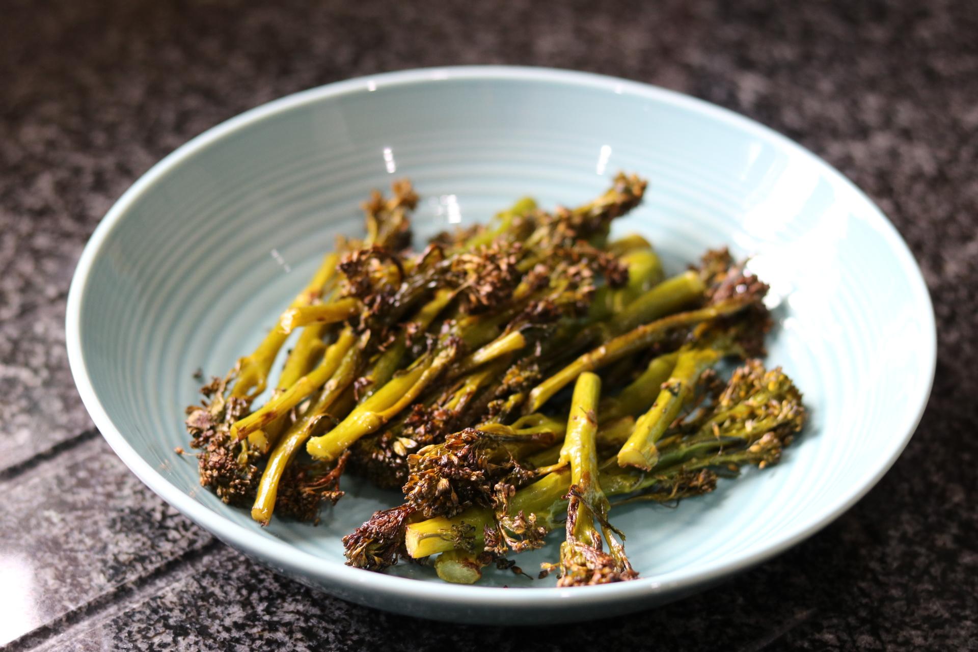 roasted brocolli