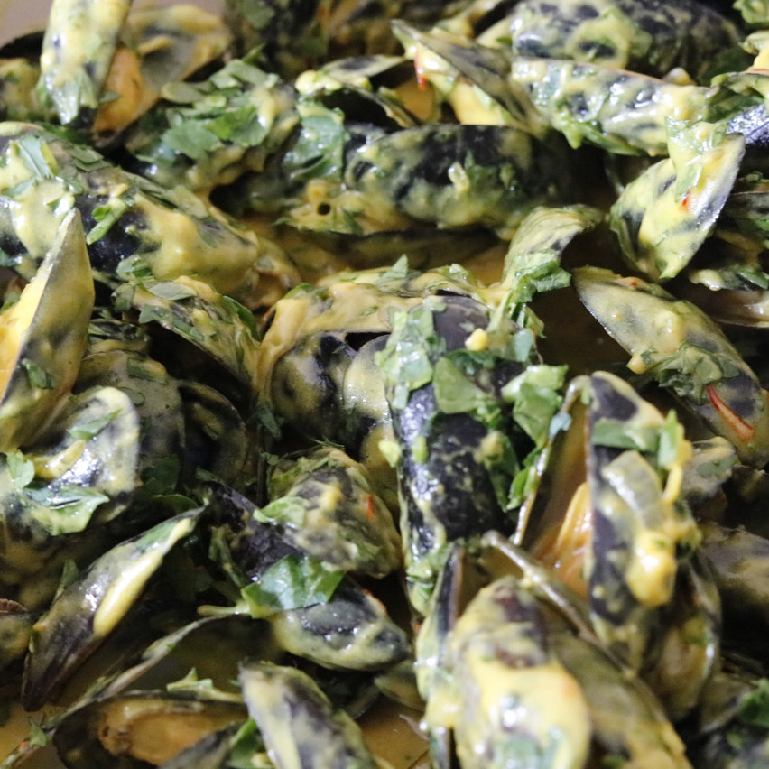 Curried Mussels_La Mouclade15