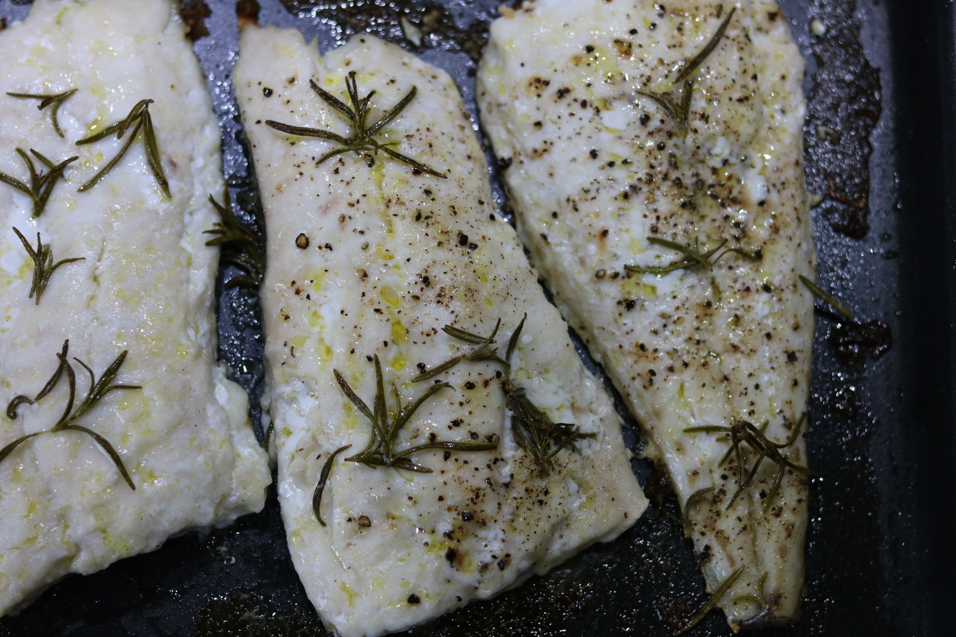 cooked hake
