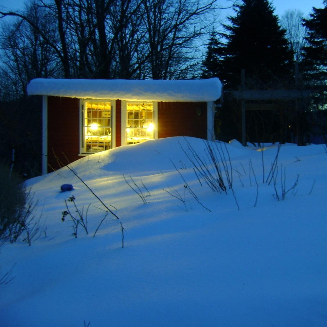 Still Water Bindery winter's night