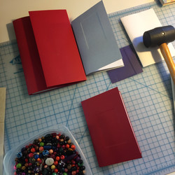 Learning to emboss the cover