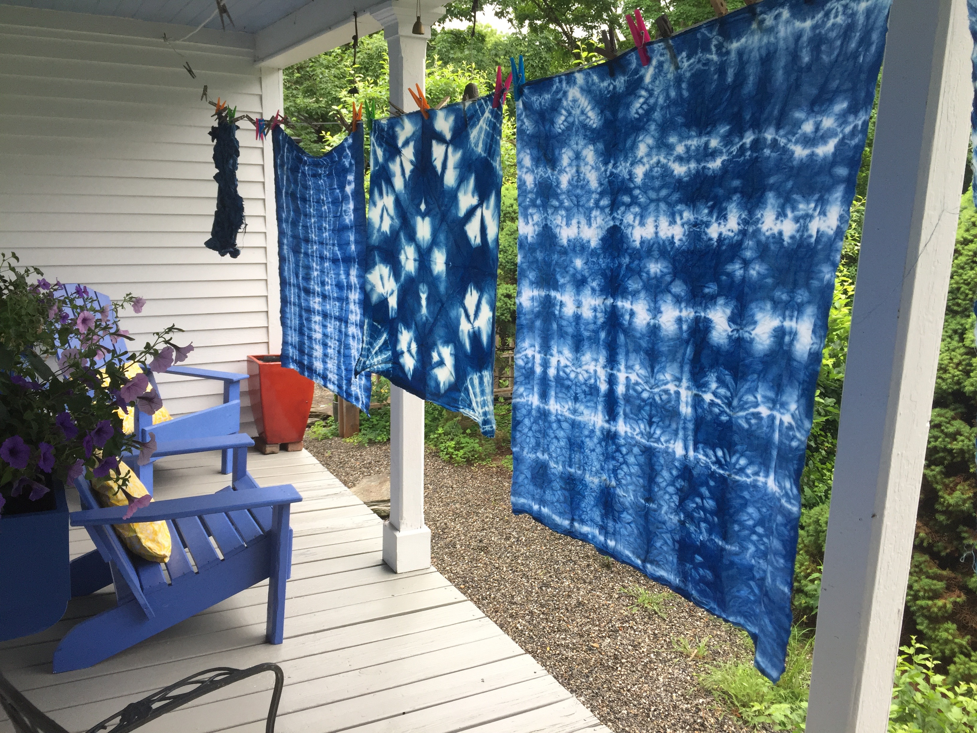 Still Water Bindery Indigo Shibori Workshop