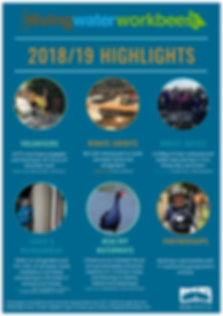 Living Water Workbees 2018/19 higlights