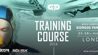 Freediving masterclass in London, day 1