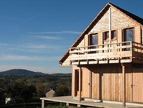 Maison ossature bois d'origine France