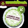"""Logement Passerelle a reçu la mention """"Biosourcés""""2016 au Palmarès Limousin Construction Bois"""
