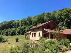 Ambiance Bois en Limousin architecte S Teyssou, bardage mélèze bardeaux mélèze, maison passive maison bioclimatique entreprise RGE eco construction