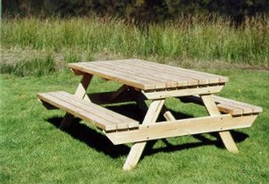 Table jardin en bois massif douglas hors aubier avec bancs pique nique Ambiance Bois exterieure mobilier francais, fabrication française