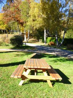 Table de jardin douglas extérieur