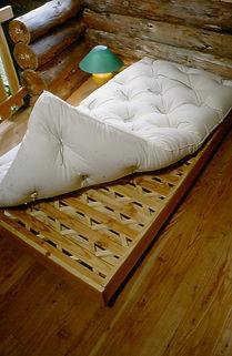 sommier mélèze douglas lit pieds de lit couchage ferme ventilé massif bois français fabrication française local