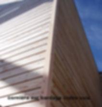 Cornière 12*45mm pour bardage, classe 3, hors aubier, Ambiance Bois, tasseau d'angle, bardage à claire voie, bardage mélèze brut 16 mm,  entreprise RGE, eco-artisan,  claire voie mélèze, fabrication française, bois local, ambiance-bois.com