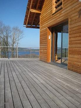 lames de terrasse m l ze hors aubier massif ambiance bois en limousin. Black Bedroom Furniture Sets. Home Design Ideas