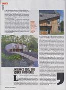 Article Marianne Défricheurs Ambiance Bois Limousin SAPO entreprise coopérative bois mélèze douglas Plateau de Millevaches
