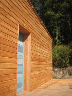 Eco construction bois mélèze 2015