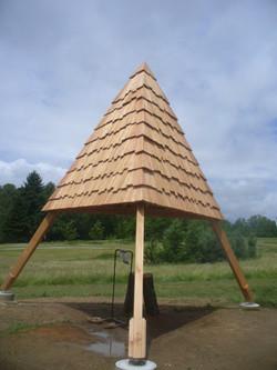 Cabane pêcheur tetraede