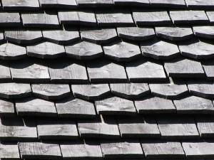 Bardeaux toiture mélèze hors aubier