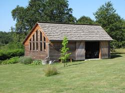 Cabane de jardin mélèze et douglas