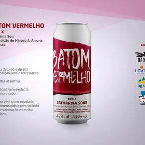 Cerveja Batom Vermelho está de volta com adição de amoras