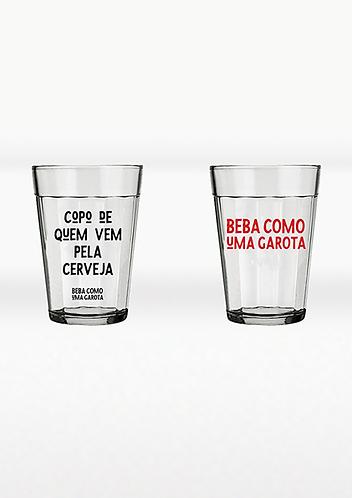 Kit Copos Dupla Amigos – 300ml