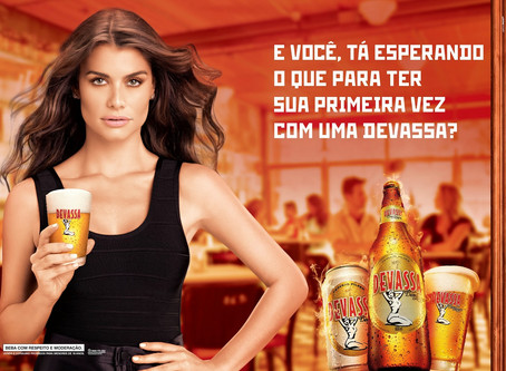 Cerveja e mulher, oba!