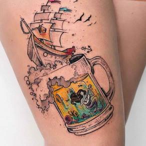 07 tatuagens inspiradas em cerveja