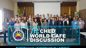 Philosophia Editor Attended the First CHED World Cafe Discussion