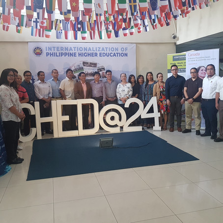 Philosophia Editor-in-Chief attends CHED's First Brown Bag Forum  May 16, 2018 CHED Head Office